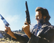 This is an image of 221070 Clint Eastwood Photograph & Poster