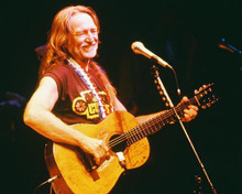 This is an image of 223640 Willie Nelson Photograph & Poster