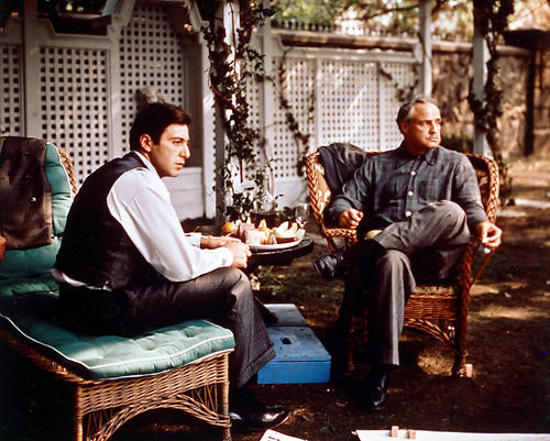 This is an image of 224023 The Godfather Photograph & Poster
