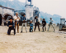 This is an image of 224186 The Magnificent Seven Photograph & Poster