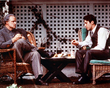This is an image of 224881 The Godfather Photograph & Poster