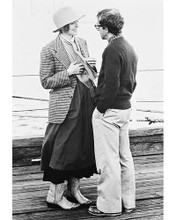 This is an image of 169539 Woody Allen & Diane Keaton Photograph & Poster