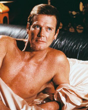 This is an image of 237666 Roger Moore Photograph & Poster