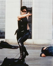 This is an image of 238077 Carrie-Anne Moss Photograph & Poster