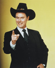This is an image of 239218 Larry Hagman Photograph & Poster
