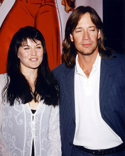 This is an image of 228620 Lucy Lawless & Kevin Sorbo Photograph & Poster