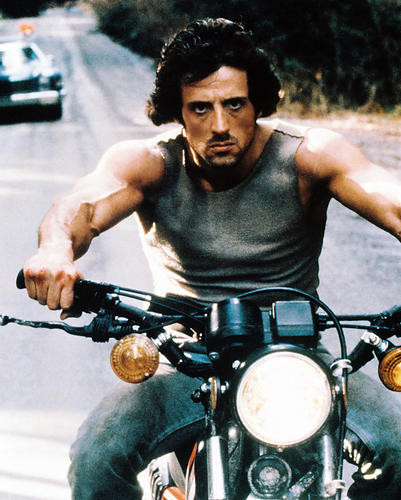 This is an image of 230236 Sylvester Stallone Photograph & Poster