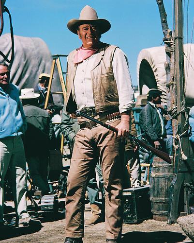 This is an image of 233492 John Wayne Photograph & Poster