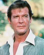 This is an image of 234667 Roger Moore Photograph & Poster