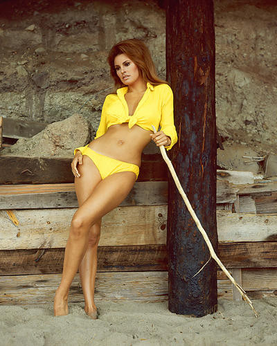 This is an image of 243505 Raquel Welch Photograph & Poster