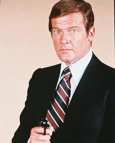This is an image of 245256 Roger Moore Photograph & Poster