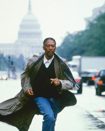This is an image of 246437 Morgan Freeman Photograph & Poster