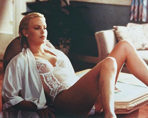 This is an image of 239387 Charlize Theron Photograph & Poster