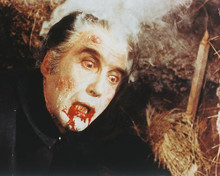 This is an image of 243708 Christopher Lee Photograph & Poster