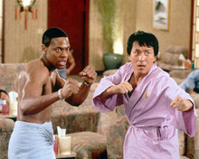 This is an image of 246838 Jackie Chan & Chris Tucker Photograph & Poster