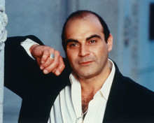 This is an image of 247938 David Suchet Photograph & Poster