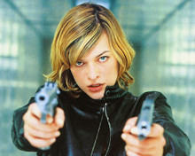 This is an image of 248205 Milla Jovovich Photograph & Poster