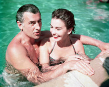 This is an image of 248600 Jean Simmons & Stewart Granger Photograph & Poster