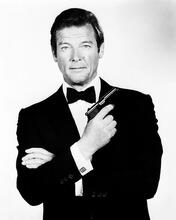 This is an image of 171457 Roger Moore Photograph & Poster