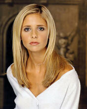 This is an image of 250677 Sarah Michelle Gellar Photograph & Poster
