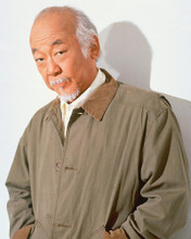 This is an image of 253094 Pat Morita Photograph & Poster