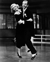 This is an image of 172527 Fred Astaire & Ginger Rogers Photograph & Poster