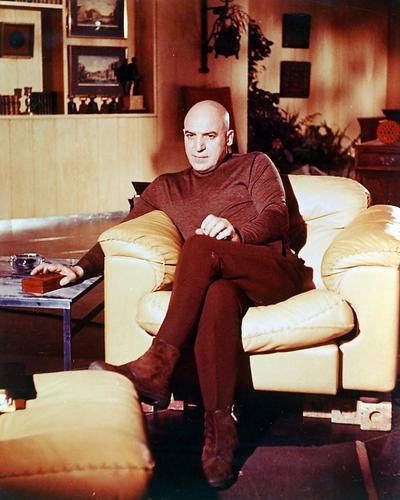 This is an image of 256050 Telly Savalas Photograph & Poster