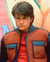 This is an image of 256438 Michael J.Fox Photograph & Poster