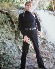 This is an image of 256516 Roger Moore Photograph & Poster