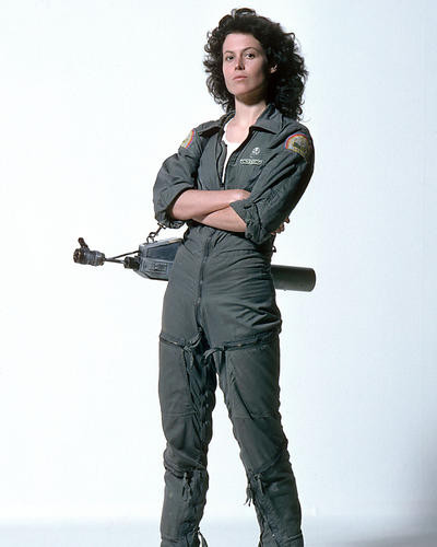 This is an image of 258114 Sigourney Weaver Photograph & Poster
