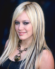 This is an image of 258207 Hilary Duff Photograph & Poster
