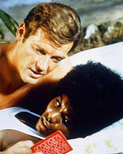 This is an image of 259099 Roger Moore Photograph & Poster