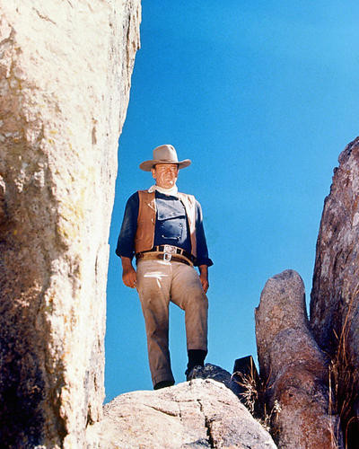 This is an image of 259732 John Wayne Photograph & Poster