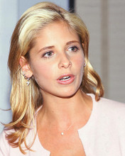 This is an image of 261216 Sarah Michelle Gellar Photograph & Poster