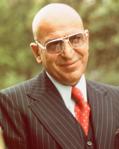 This is an image of 262879 Telly Savalas Photograph & Poster