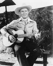 This is an image of 178158 Gene Autry Photograph & Poster