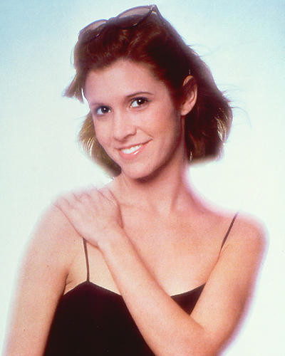 This is an image of 264847 Carrie Fisher Photograph & Poster