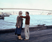 This is an image of 250512 Woody Allen & Diane Keaton Photograph & Poster
