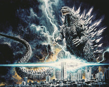 This is an image of 251613 Godzilla Photograph & Poster