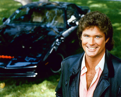 This is an image of 256187 David Hasselhoff Photograph & Poster