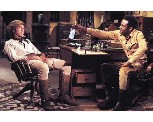 This is an image of 256985 Blazing Saddles Photograph & Poster