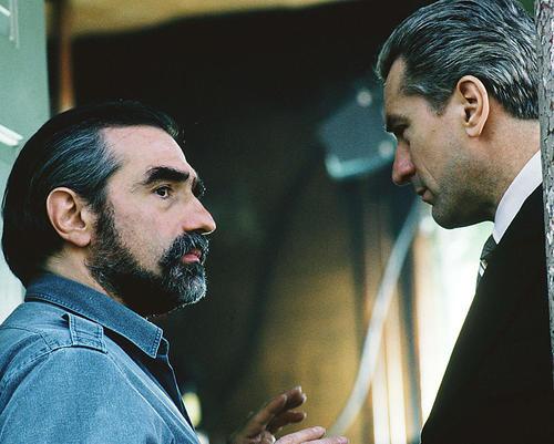 This is an image of 264332 Robert De Niro & Martin Scorsese Photograph & Poster