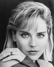 This is an image of 178772 Sharon Stone Photograph & Poster