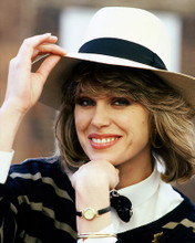 This is an image of 265041 Joanna Lumley Photograph & Poster