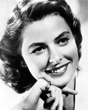 This is an image of 179055 Ingrid Bergman Photograph & Poster
