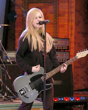 This is an image of 265800 Avril Lavigne Photograph & Poster