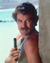 This is an image of 266168 Tom Selleck Photograph & Poster