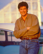 This is an image of 266018 David Hasselhoff Photograph & Poster