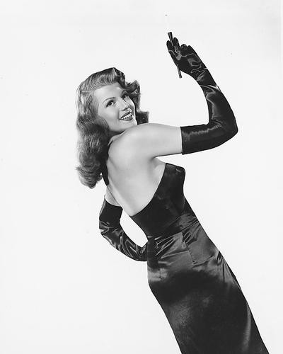 This is an image of 179299 Rita Hayworth Photograph & Poster