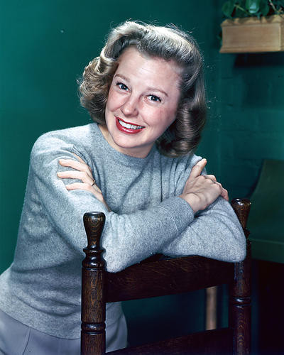 This is an image of 266665 June Allyson Photograph & Poster